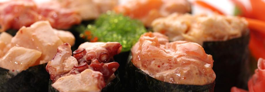 """Острые суши — суши-бар """"САМУРАЙ"""""""